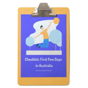 When you land in Australia what are some of the few things you need to? We are covering in this checklist.